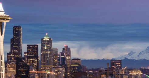 Seattle Skyline E2030